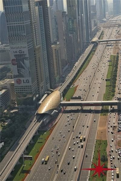 Shell and Core On Main Sheikh Zayed Road
