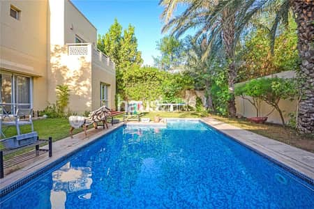 5 Bedroom Villa for Sale in The Meadows, Dubai - Vacant on Transfer| Type 16| Upgraded and Extended