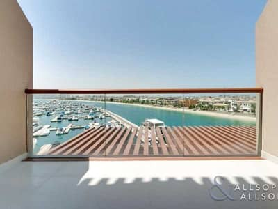 استوديو  للايجار في نخلة جميرا، دبي - Studio | Fantastic Views | End of Sept