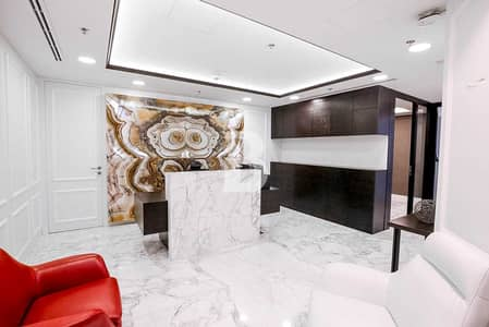 Office for Sale in Business Bay, Dubai - The Oberoi Centre | Furnished office | Canal view