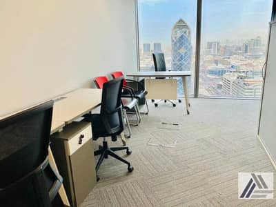 Office for Rent in Bur Dubai, Dubai - Fully Furnished And Fitted Office For Rent With Amazing Views-linked with burjuman  Mall and Mero