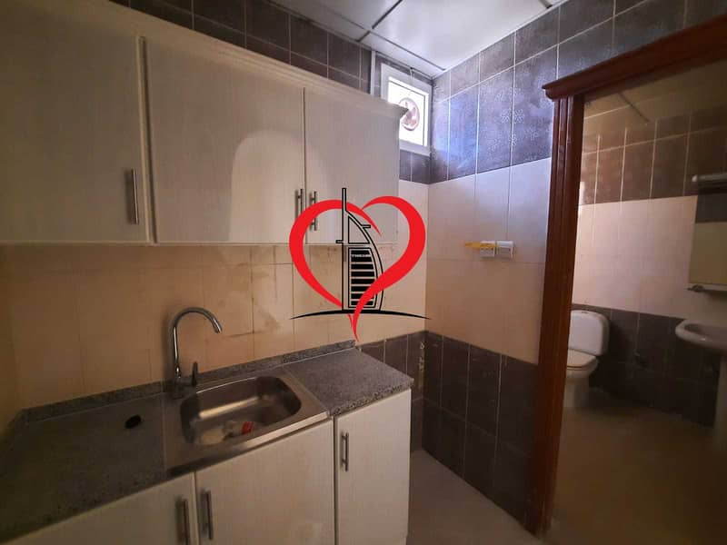 12 STUDIO WITH SEPARATE KITCHEN AND BATHROOM LOCATED AT AL NAHYAN.