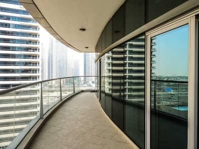 2 Bedroom Flat for Rent in Dubai Marina, Dubai - Stunning 2 BR + Maids + Study | Marina View