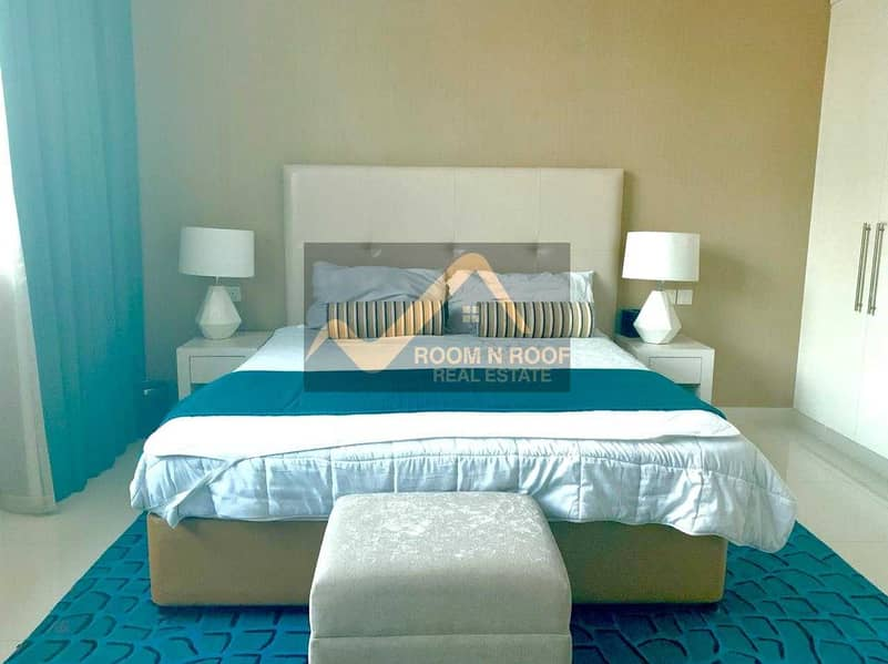 2 Hot Deal!!! Fully Furnished Studio In Cour Jardin Is Available For Rent