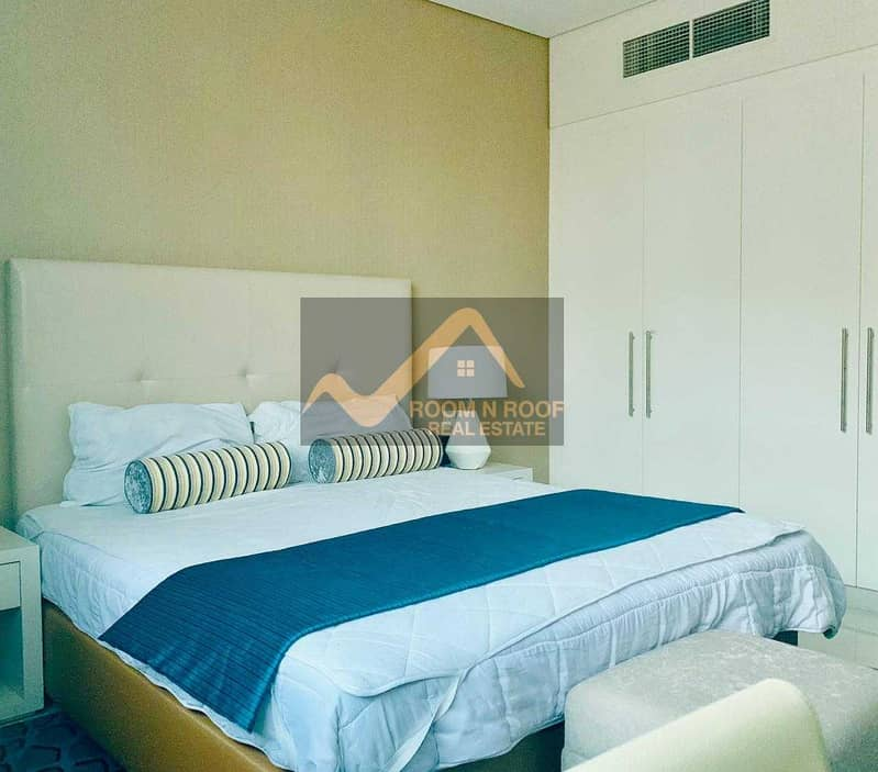 10 Hot Deal!!! Fully Furnished Studio In Cour Jardin Is Available For Rent