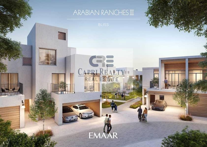 1st Greek style villas  5 yrs payment plan by EMAAR