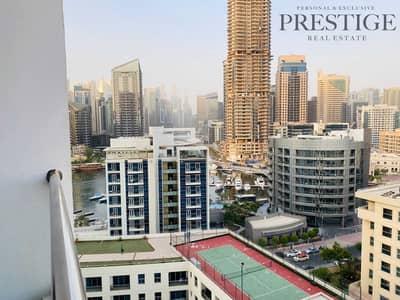 شقة 1 غرفة نوم للبيع في دبي مارينا، دبي - Full Marina View| Excusive 1 bed for Sale