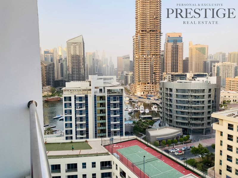 Full Marina View  Excusive 1 bed for Sale