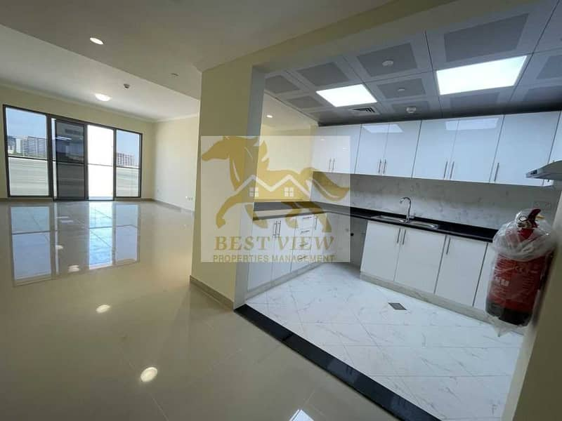 Brand new Building  Spacious One Bedroom with Car Parking.