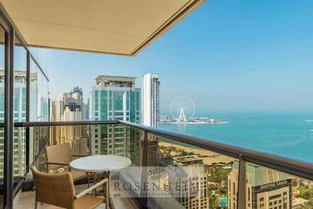 2 Bedroom Apartment for Rent in Dubai Marina, Dubai - Elegantly Furnished    Exclusive    Bills Included