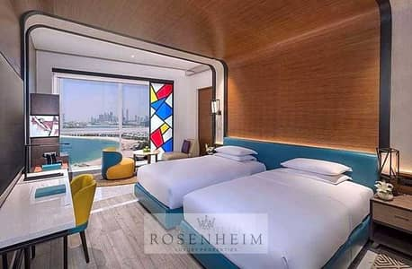 Studio for Rent in Palm Jumeirah, Dubai - Fabulously Furnished Beach Front | Bills Included