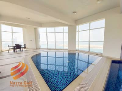 3 Bedroom Flat for Rent in Corniche Area, Abu Dhabi - Sea View Elegant Apartment w Complete Amenities