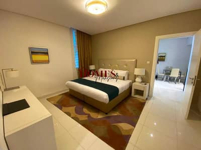 شقة فندقية 1 غرفة نوم للايجار في الخليج التجاري، دبي - شقة فندقية في داماك ميزون كور جاردان الخليج التجاري 1 غرف 55000 درهم - 5392507