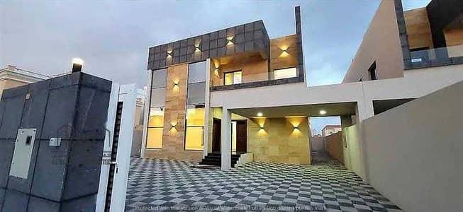5 Bedroom Villa for Sale in Al Mowaihat, Ajman - Villa for sale, European design, personal finishing, monthly deduction of 7 thousand dirhams