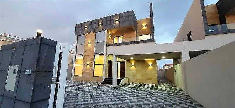 Villa for sale, European design, personal finishing, monthly deduction of 7 thousand dirhams