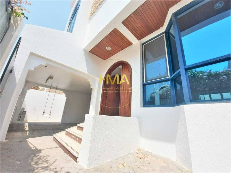 separated villa- inside barking for1 car- AL Karama