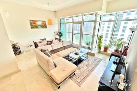 2 Bedroom Apartment for Sale in Dubai Marina, Dubai - Two Bedrooms Plus Study | Marina Views