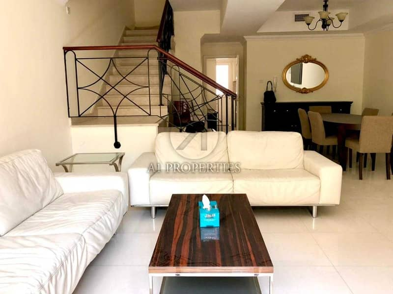 Fully Furnished Villa 3 BR in Diamond Views at JVC