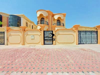 5 Bedroom Villa for Rent in Al Mowaihat, Ajman - For rent a stone face villa, personal finishing, first resident in the MOWAIHAT area in Ajman, on the main street, close to Mohammed Bin Zayed Street