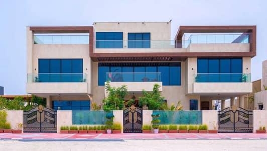 فیلا 6 غرف نوم للبيع في لؤلؤة جميرا، دبي - Contemporary Villa with Stunning Sea Views