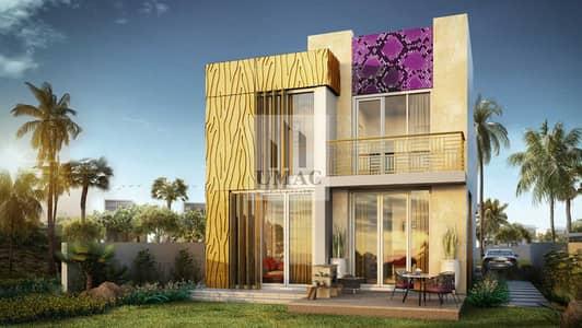 فیلا 3 غرف نوم للبيع في (أكويا أكسجين) داماك هيلز 2، دبي - LUXURY DESIGNED VILLA ROOF TOP GARDEN   CAVALLI BRANDEDEN 