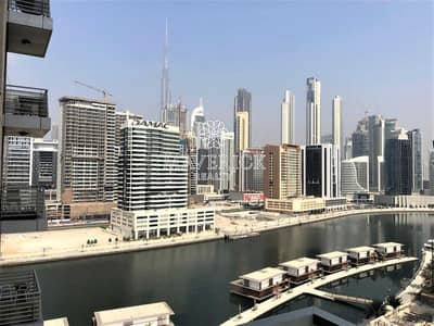 1 Bedroom Flat for Rent in Business Bay, Dubai - Canal View | Spacious 1BR | Ready to Move