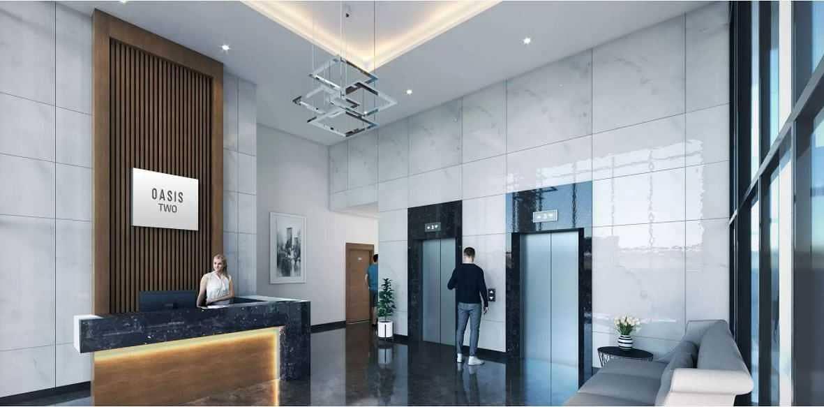 شقة في الواحة ريزيدنس 2 الواحة ريزيدنس مدينة مصدر 2 غرف 1190000 درهم - 5393075