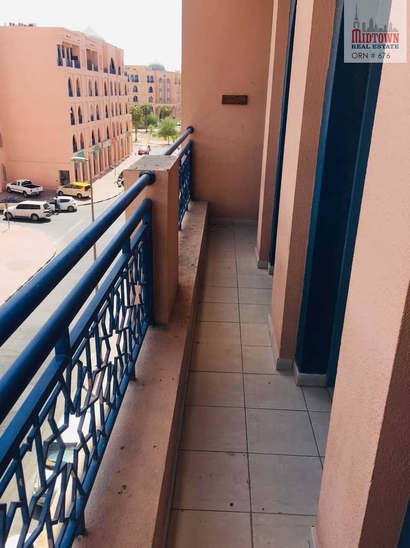 10 Hot deal for one bedroom with balcony near bus stop