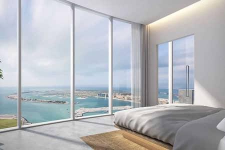 شقة فندقية 1 غرفة نوم للبيع في دبي مارينا، دبي - Palm & Gulf Ocean Views | Worlds Tallest Hotel