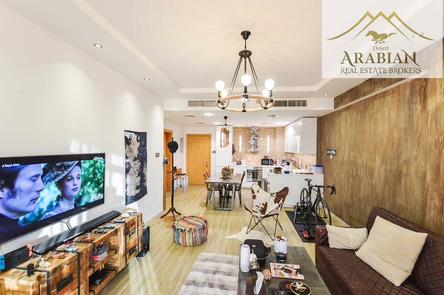 شقة في واحة الينابيع واحة دبي للسيليكون 2 غرف 1100000 درهم - 5220912
