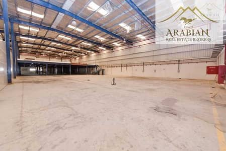 مستودع  للايجار في مجمع دبي للاستثمار، دبي -  High power 1350 KW  Good for Industrial  Fitted offices 