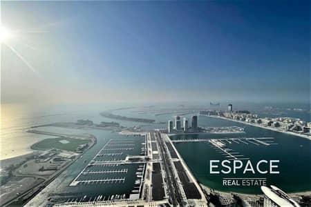 4 Bedroom Penthouse for Rent in Dubai Marina, Dubai - Penthouse | Unfurnished | Panoramic Sea View