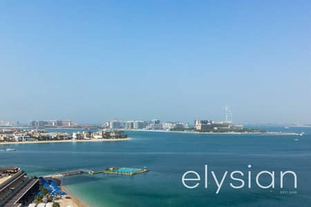 3 Bedroom Apartment for Rent in Palm Jumeirah, Dubai - Stunning 3 Bedroom | High Floor | Available Oct