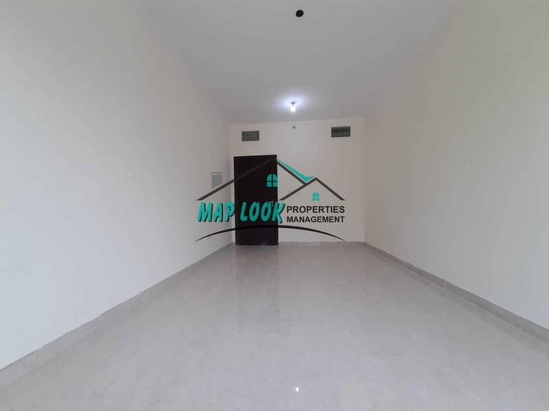 Brand new 1 bedroom  2 bathroom parking underground  43k payment  4  deposit 5k  muroor road