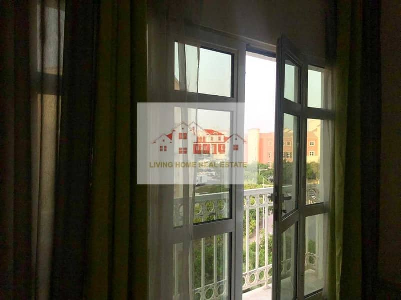 2 HOT DEAL LARGE  UNFURNISHED  1 BHK  U TYPE APARTMENT WITH BALCONY IN DISCOVERY GARDEN ONLY 32K
