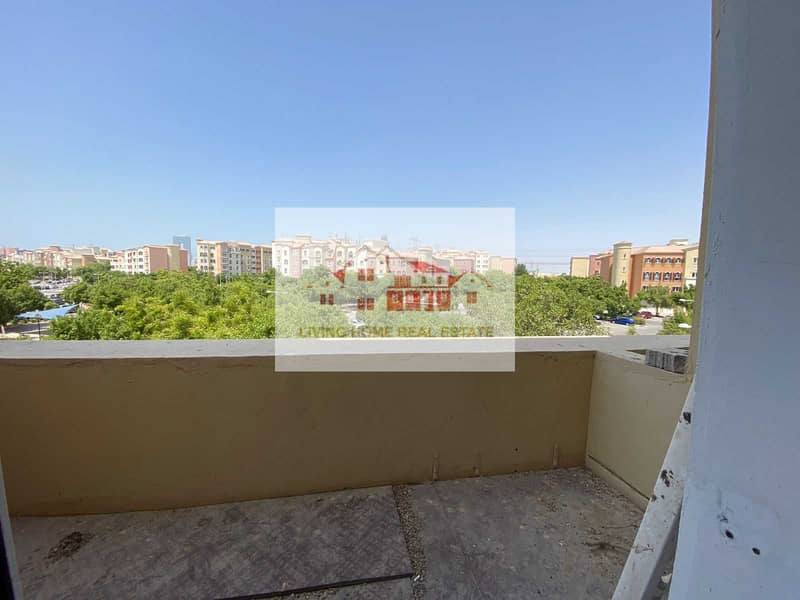 8 HOT DEAL SPECIAL OFFER BEAUTIFULL VIEW 1 BHK 32K  with 2 BALCONY IN MEDITERRANEAN