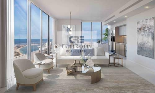 شقة 1 غرفة نوم للبيع في دبي هاربور، دبي - 5 yrs payment plan|Beach access|Sea View| NEW TOWER