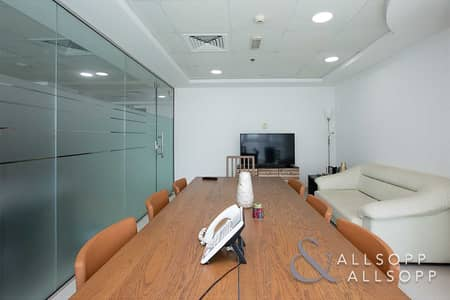 Office for Sale in Jumeirah Lake Towers (JLT), Dubai - Furnished Unit  | Vacant | Lake & Almas View
