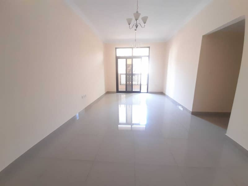 WELL FINISHING 2BR  BALCONY   CHEAP PRICE 35K IN MUWAILEH COMMERCIAL SHARJAH