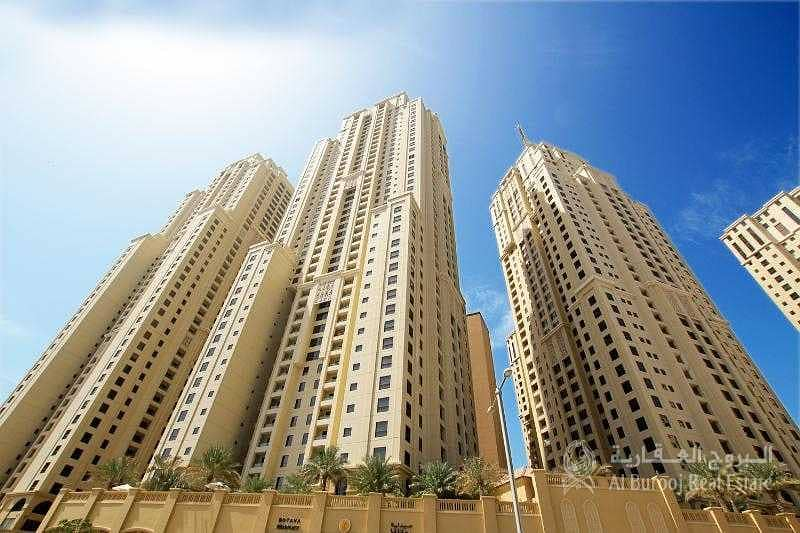 Exclusive Large 1 Bed + Storage | Partial Sea View