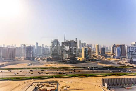 2 Bedroom Flat for Rent in Business Bay, Dubai - Burj/Skyline View! Tower B