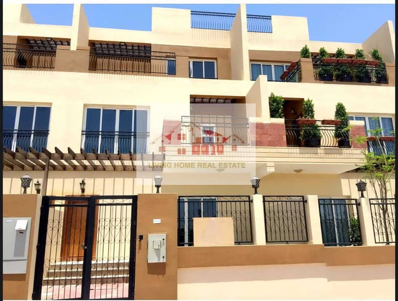 4 BEDROOM VILLA LOCATED IN  AL BARSHA SOUTH  FOURTH