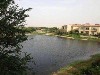 4 Bedroom Villa for Sale in Jumeirah Islands, Dubai - Lake View 4BR Mediterranean Cluster Entertainment Foyer