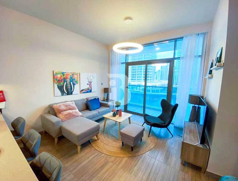 FULLY FURNISHED LUXURY 1BED | LAKE VIEW