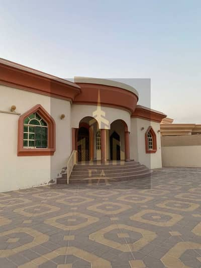 GRAB THE BEST DEAL VILLA AVAILBLE FOR RENT WITH 4 MASTER SIZE BEDROOMS AS MASTER MAJLIS HALL IN HAMIDIYA AJMAN RENT 75,000/- YEARLY