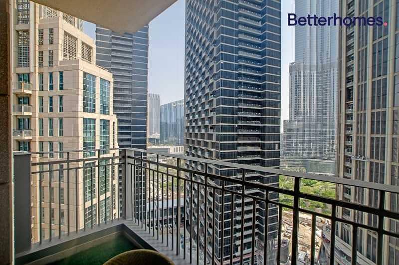 10 2 Bed + Study |Burj Khalifa View| Vacant on Transfer|