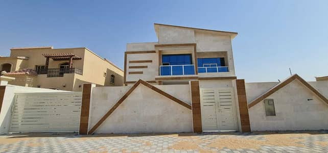 7 Bedroom Villa for Sale in Al Mowaihat, Ajman - Villa for sale European design with 7 master rooms, personal finishes, using the finest materials, with the possibility of easy bank financing