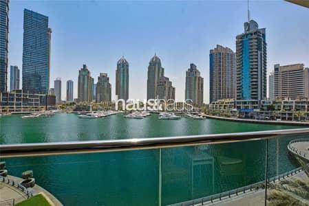 3 Bedroom Flat for Rent in Dubai Marina, Dubai - Fully Upgraded   Rare   Huge Terrace   Vacant Nov.