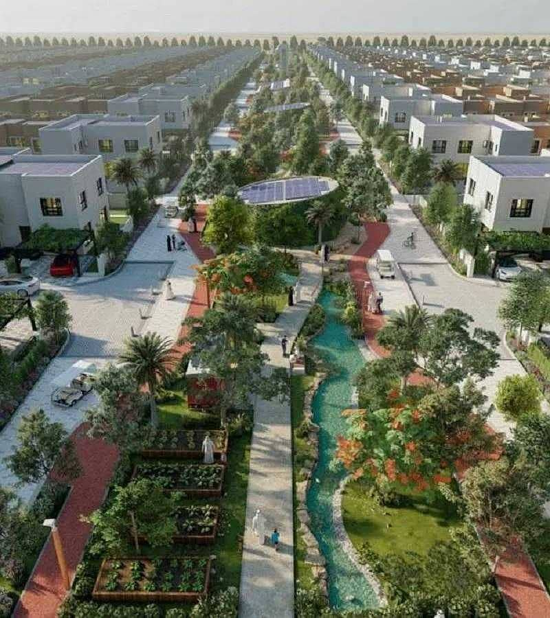 Cheapest brand 3BR villas with all facilities in Sharjah price start 1.3M