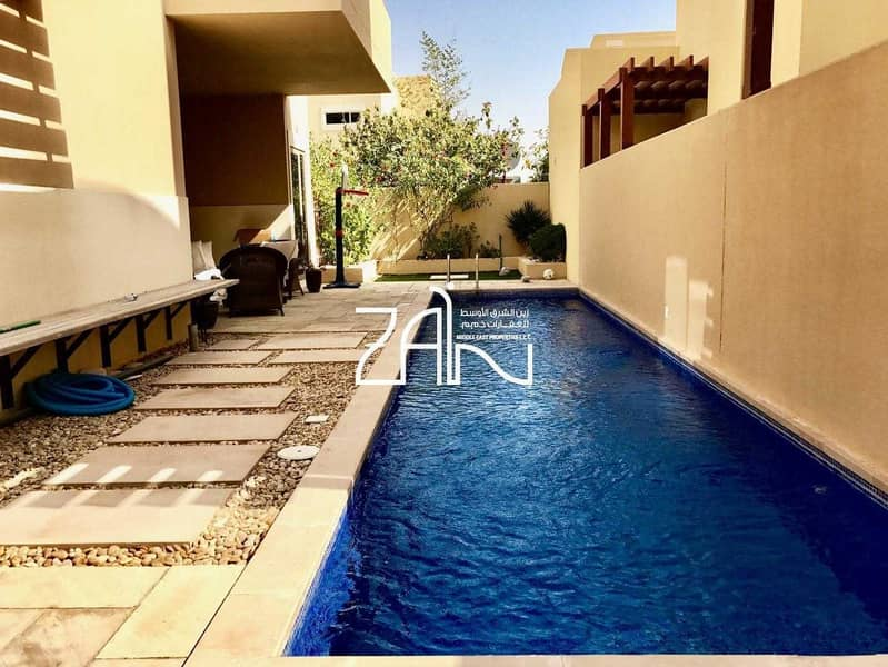 Spacious 4 BR Villa Type A with Pool Close to Gate